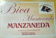 BICA MANTECADA CON CHOCOLATE